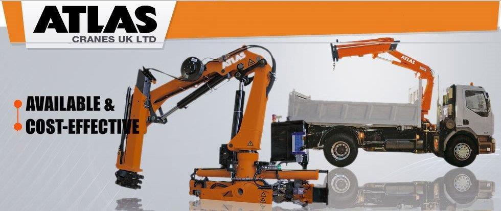 Atlas Truck Sales >> Atlas Truck Mounted Cranes