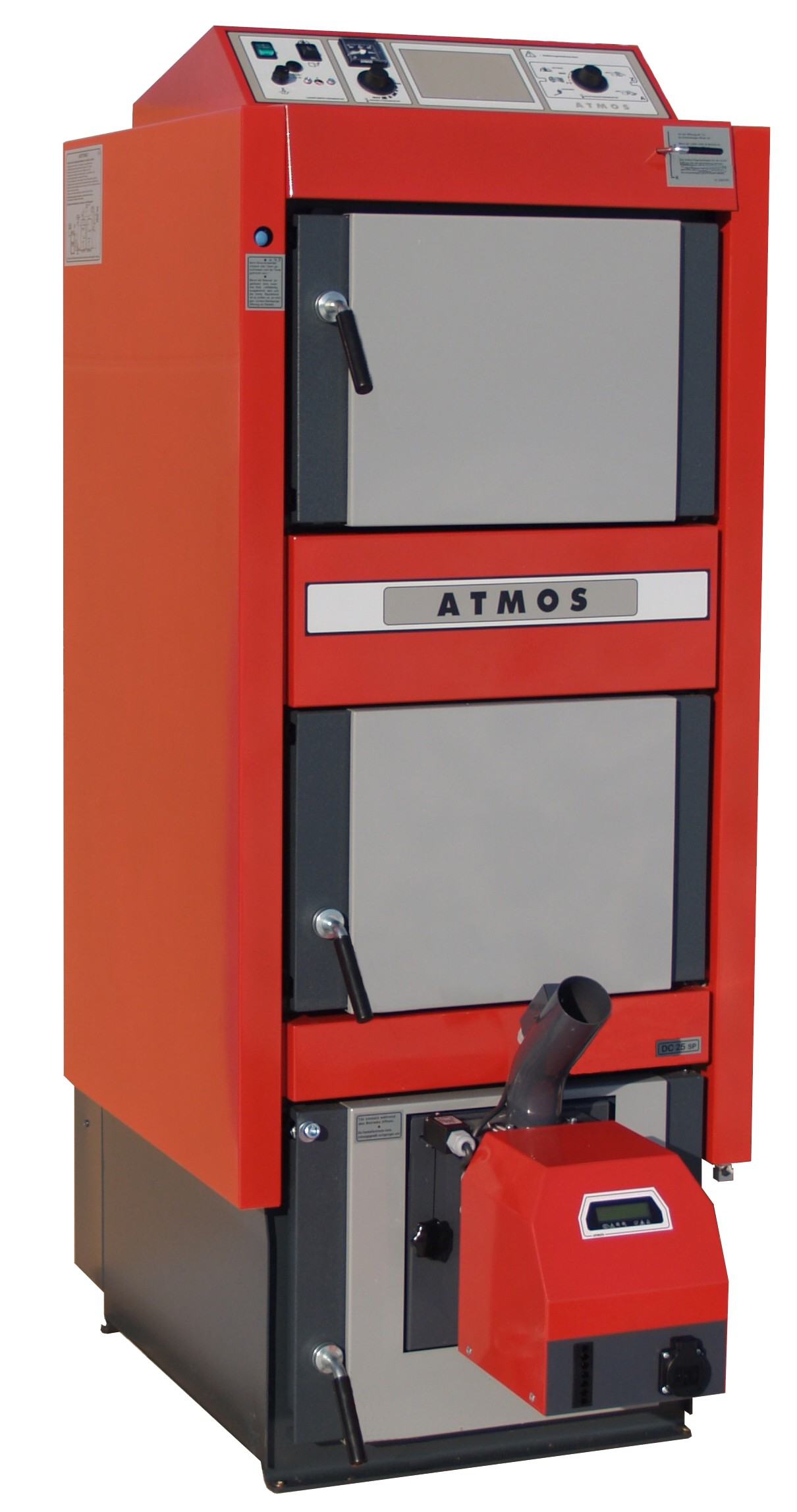 Atmos Dc25sp Wood Gasification Boiler