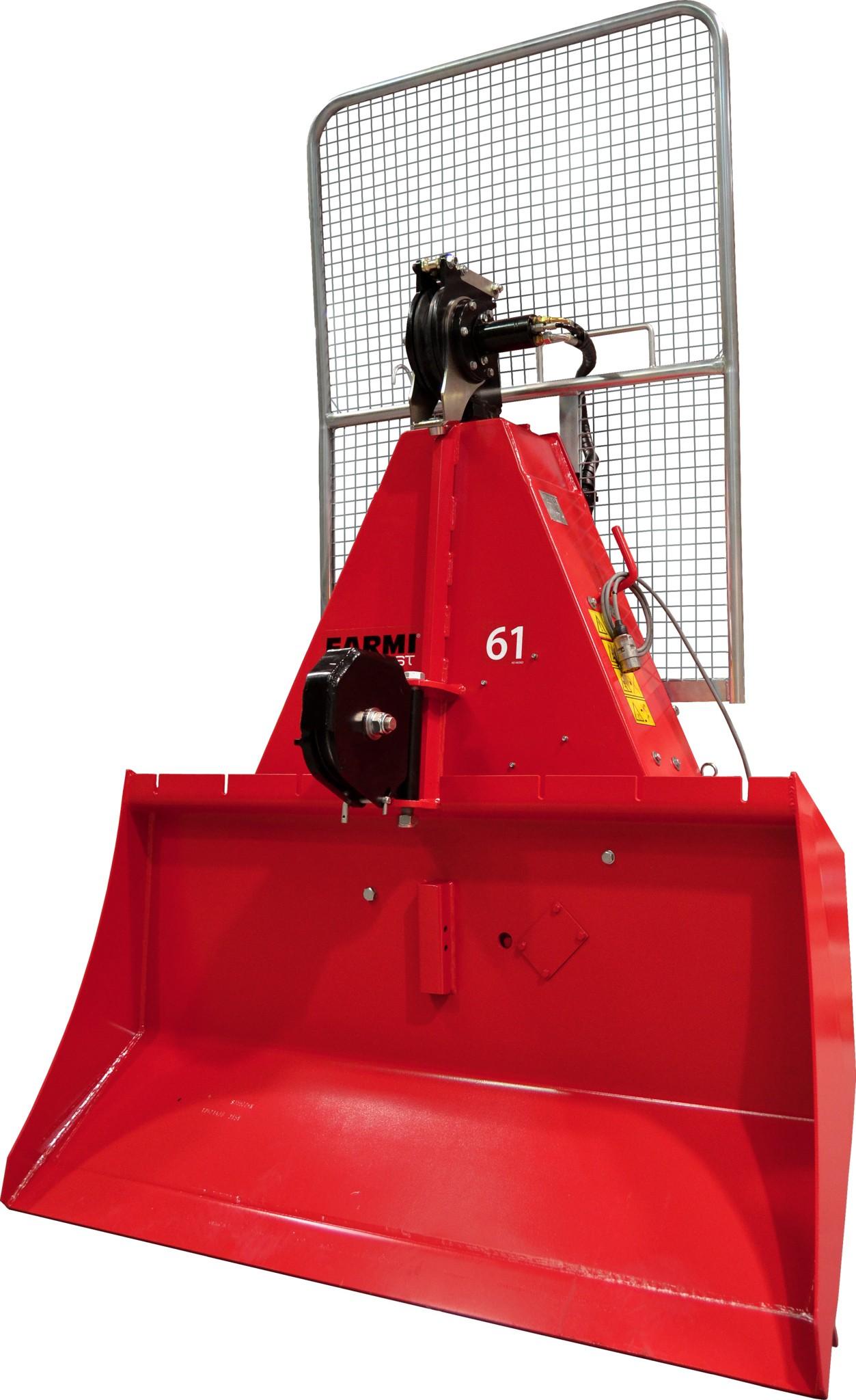 PTO winch | tractor winch | skidding winch | Farmi PTO winch