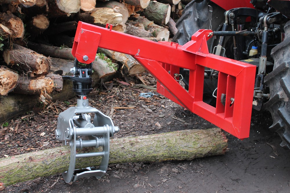 Forestry Mulcher For Sale >> LMs 3 Point Linkage Timber Grapple Frame
