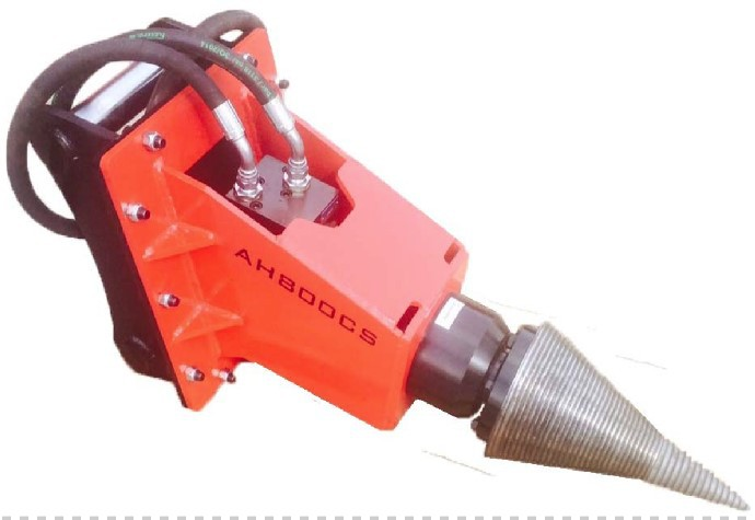 Excavator Mounted Wood Splitter Mini Excavator With Wood