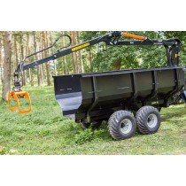 BMF 8T1 Forestry Timber Trailer