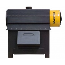 Master CT50P 50kW Solid Fuel Heater