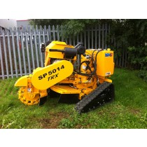 Carlton SP5014 TRX Tracked, Fully Hydraulic  Self-Propelled Stump Grinder