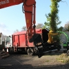 LMS Scorpion Tree Shear and Greenmech Quad Chip on recent tree clearing job.