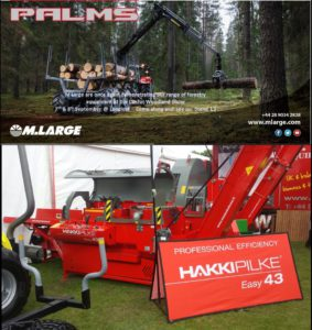 M Large are once again demonstrating our range of forestry equipment at the Confor Woodland Show which is taking place on 07/08 September at Longleat - Come and see us! (stand L3)