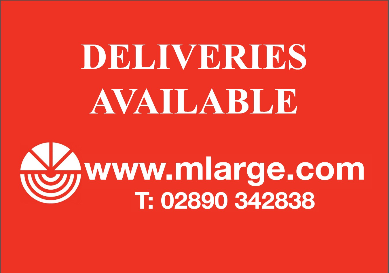 Deliveries available