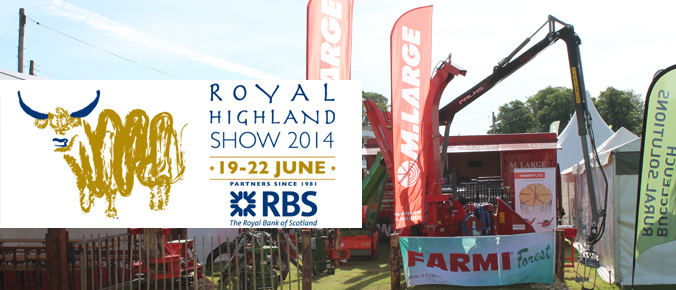 M.Large at Royal Highland show 2014