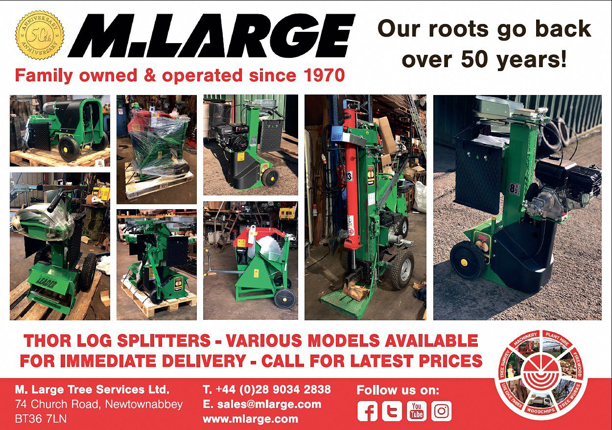 Thor Log Splitters delivered to your home