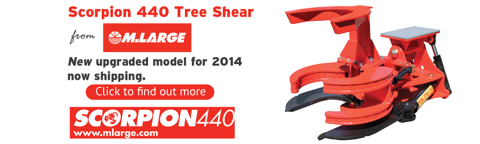 Upgraded Scorpion 440 tree shear slider