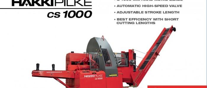 Hakki PIlke CS1000 Firewood Processor